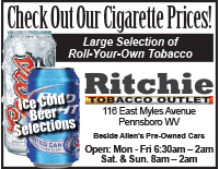 Ritchie Tobacco Outlet Pennsboro WV